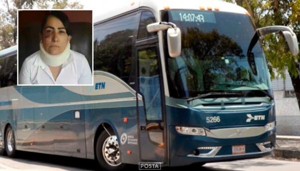Rosa Margarita Ortiz, la mujer violada en un ETN llevará a los tribunales a la empresa de transporte