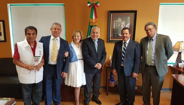 """La """"Gallardía"""" llega hasta Chicago: Alcalde se Reúne con el Cónsul General de México"""