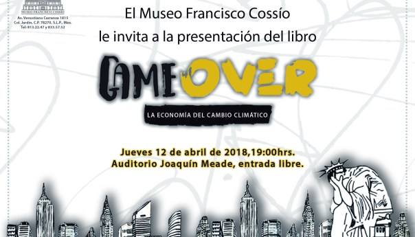 Presenta Javier Rueda su libro Game Over, La economía del cambio climático