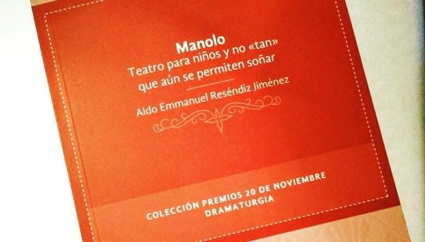 """Presentarán el libro """"Manolo"""" de Aldo Reséndiz en la Biblioteca del CEART"""