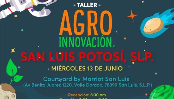SAGARPA invita al Taller de Agro Innovación