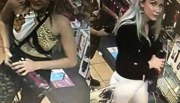Dos mujeres roban 12 mil pesos en juguetes sexuales; y son grabadas