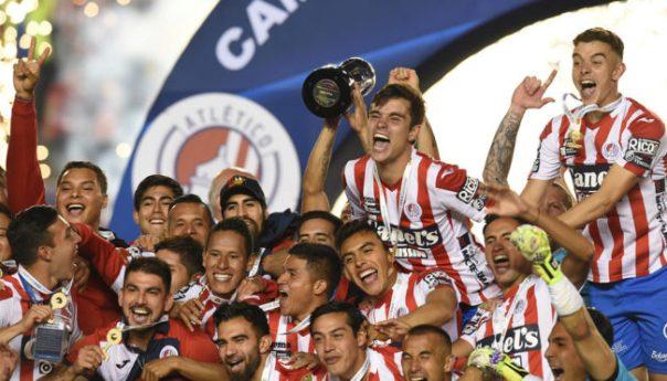 Atlético San Luis subió a la Primera División del futbol mexicano al coronarse campeón del Torneo Clausura 2019 del Ascenso MX
