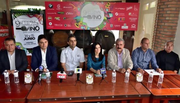 9º festival internacional del vino en San Luis Potosi