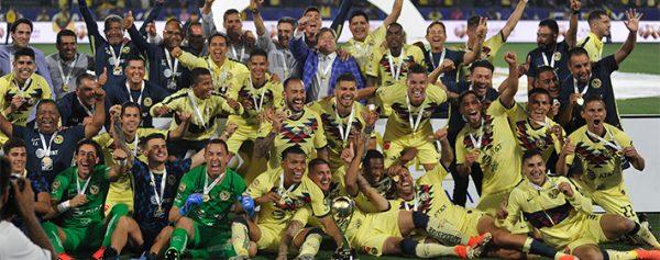 Las Águilas del América consiguieron el título de campeón de campeones