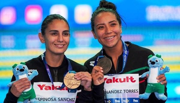 México consigue bronce en el campeonato mundial de natación