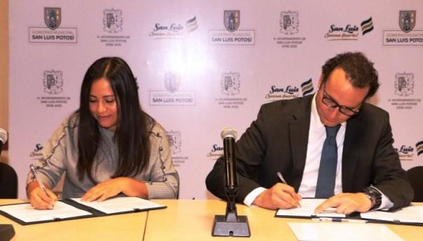 Firman gobierno municipal convenio de colaboración con COPOCYT