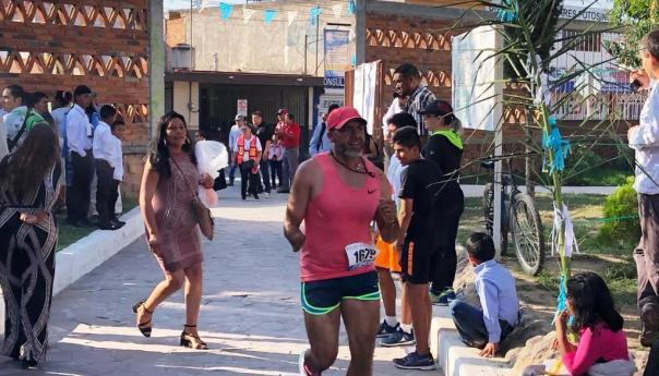 """Un éxito la convivencia atlética de tres kilómetros """"San Felipe de Jesús"""""""
