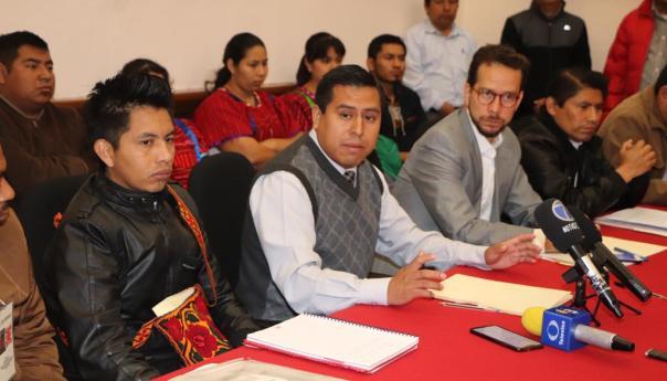 Pueblos indígenas solicitan a gobierno municipal ratificación de Zenón Santiago Cervantes