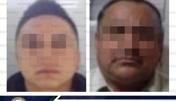Captura fiscalía a dos hombres acusados de secuestro agravado a una persona en SLP