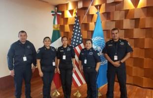 Participan elementos de la UEAVG en diplomado en prevención, investigación del feminicidio y actuación policial