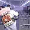 Ayuntamiento emprende sanitización de unidades del transporte público