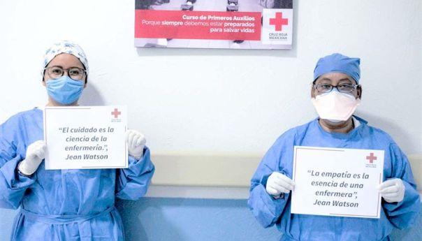 En Día Internacional de las Enfermeras, CICR, Cruz Roja Mexicana e IMSS ratifican solicitud de respeto al personal de salud