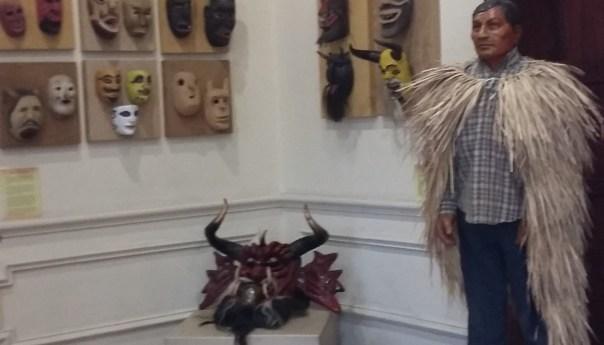 El Capisayo en el Museo Nacional de la Máscara