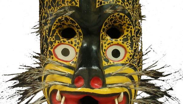 Máscaras de la Danza del Jaguar en el Museo Nacional de la Máscara