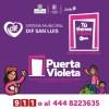 """""""Puerta violeta"""", alternativa para más de mil 300 mujeres en un año"""