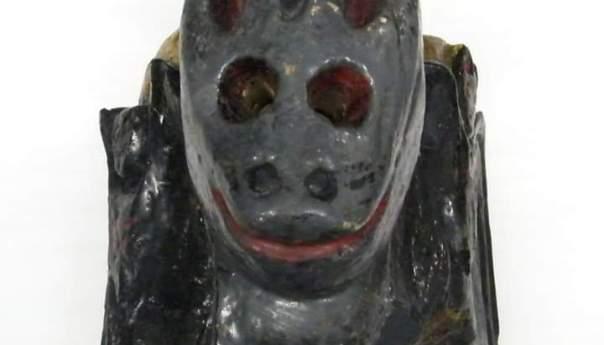 Máscaras de animales fantásticos en el museo de la mascara