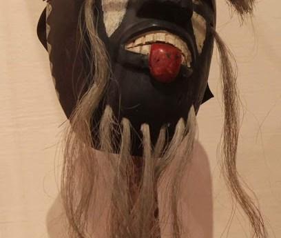 Máscaras de Pascola en el Museo Nacional de la Máscara