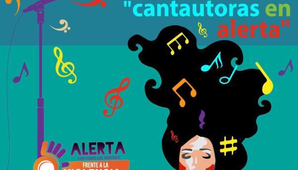 """Lanzan álbum del primer certamen internacional """"cantautoras en alerta"""" en SPOTIFY"""