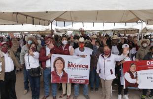 Con Sergio Martínez la Transformación llegará a Salinas: Dra. Mónica Rangel