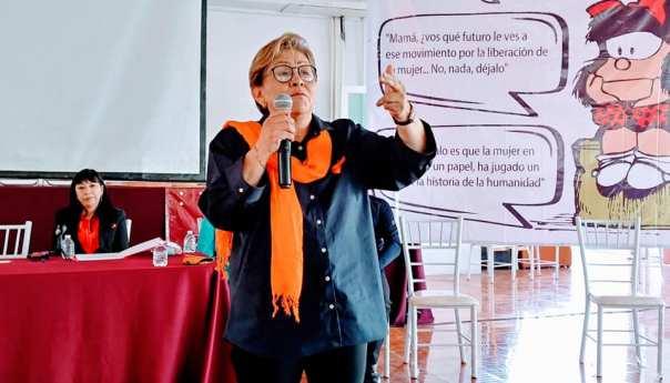 Combatir el incremento de feminicidios con educación: senadora Martha Guerrero