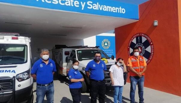 Protección civil registra saldo blanco durante días santos