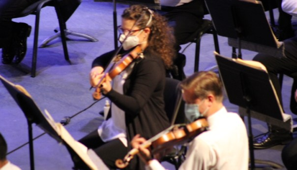 La OSSLP realizó concierto con público en el Teatro de la Paz
