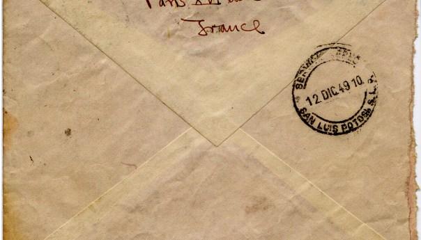 Correspondencias: Juan Blanco de París a San Luis