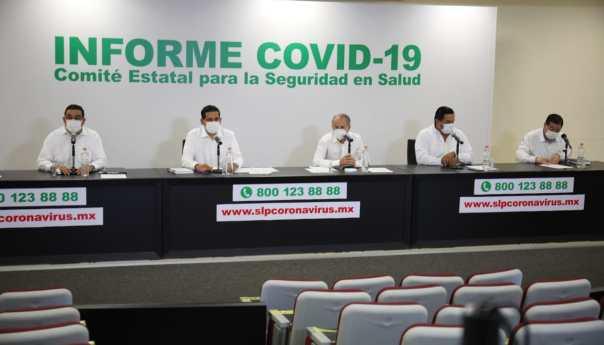 Vacunación se amplía durante el fin de semana en capital de SLP: JM Carreras