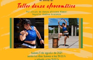 SECULT presenta talleres de danza africana en el museo del ferrocarril