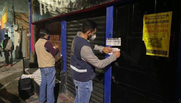 Permanentes inspecciones municipales a establecimientos comerciales