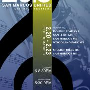 San Marcos Unified District Festival