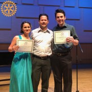 Conservatory student advances to final round of Rotary Youth Instrumental Music Contest