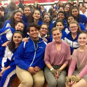 Noble Guard performs at Winter Guard International (WGI) Regional
