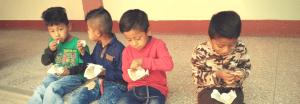 children-with-eggs