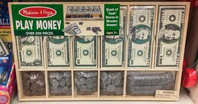 Play Money at Talbots Toyland