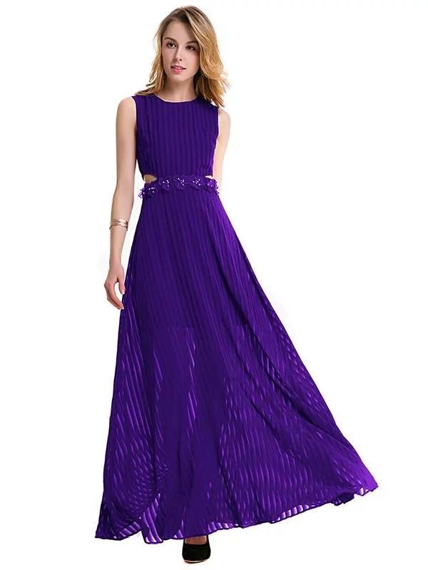 LaceShe Women's Elegant Wedding Bridesmaid Dress