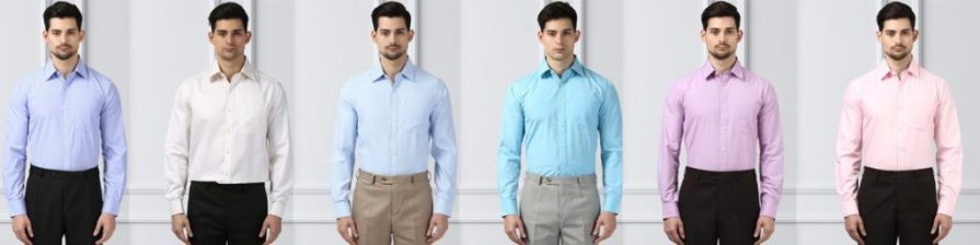 formal shirts from raymond
