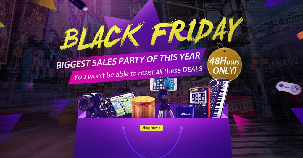 Thanksgiving's Day and Black Friday deals from Newfrog 1