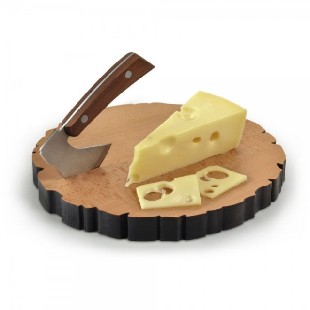 Get 38% discount on CHEESE LOG Board & Knife Set