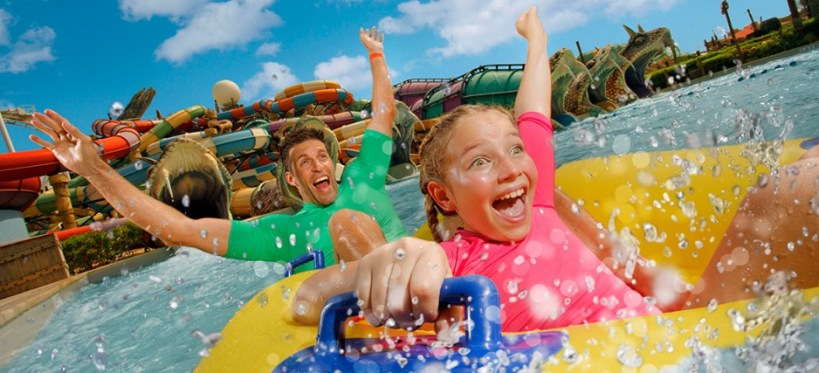 Get 12% off on yas water world.