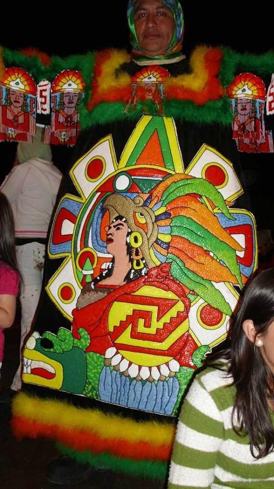 Exposición Virtual de Trajes de Chinelo, Juchitepec 2011 (5/6)