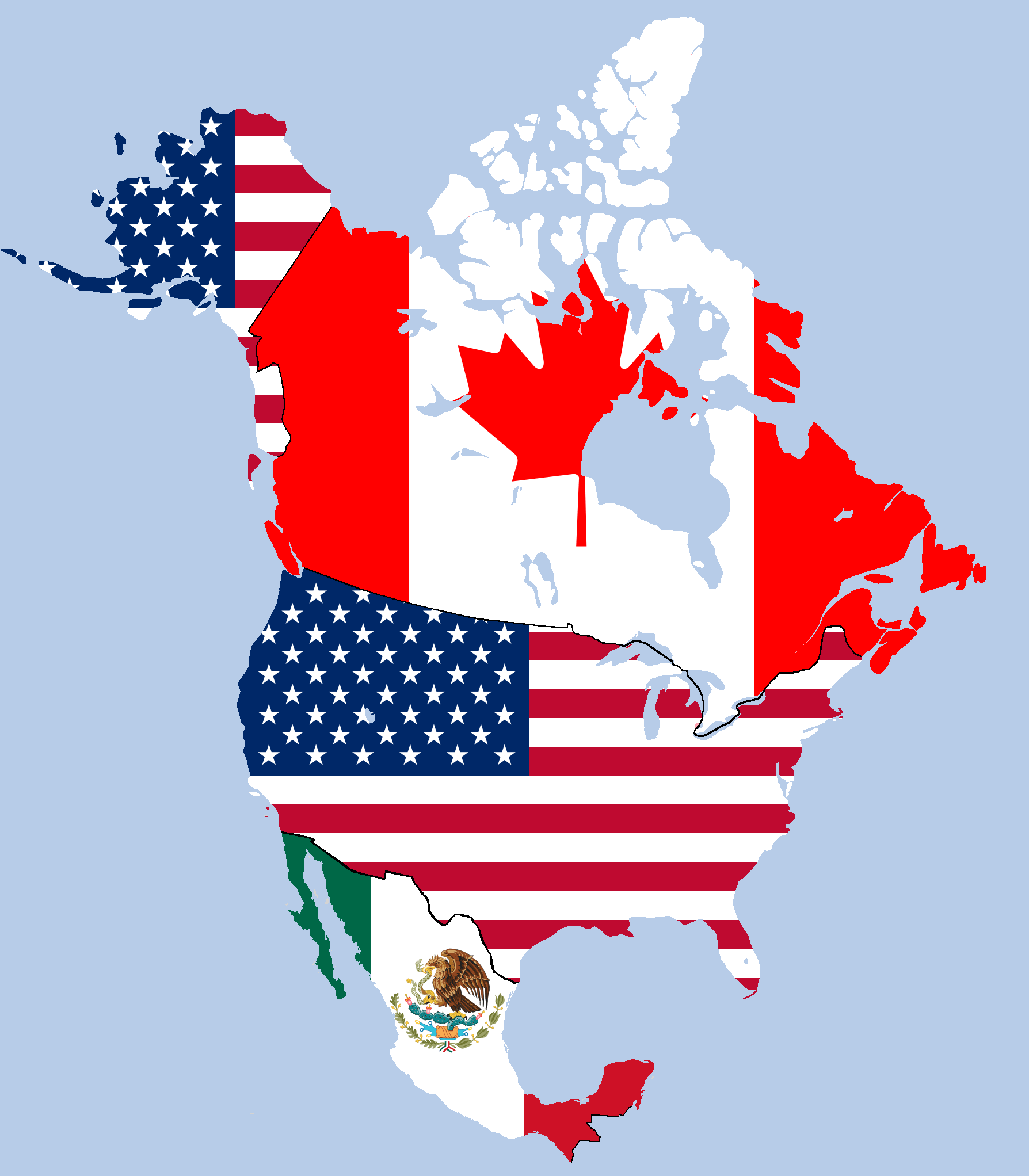 Image result for NAFTA nations