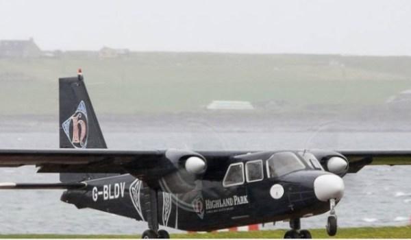 islander airplane scotland