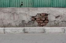 Utbildande iaf.. Nu vet jag att de har tegel bakom vad jag trodde var tjocka betongblock.