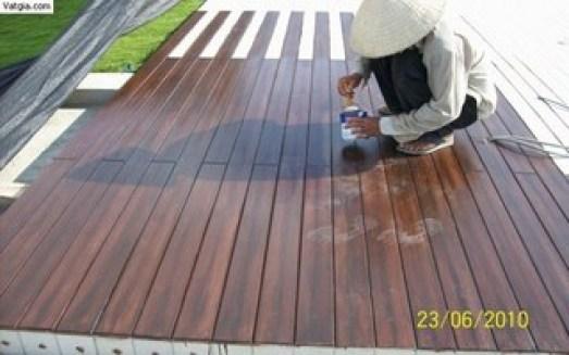 sàn gỗ ngoài trời, sàn gỗ nhân tạo