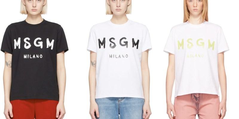 SSENSE折扣即將結束,MSGM短Tee最後折扣!推薦大胸能穿的KNIX無痕內衣