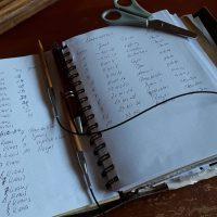 Sechs Monate Projekt : Wettermaschenmixdecke Teil 1 - die Vorbereitungen und das Wettertagebuch ( Juni)