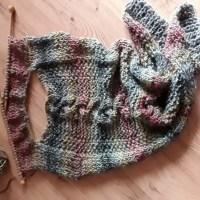Winterkollektion # 3 - Ein Herbstkleid in Waldfarben