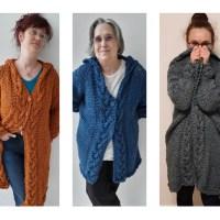 Dreimal Wolle ein Mantel
